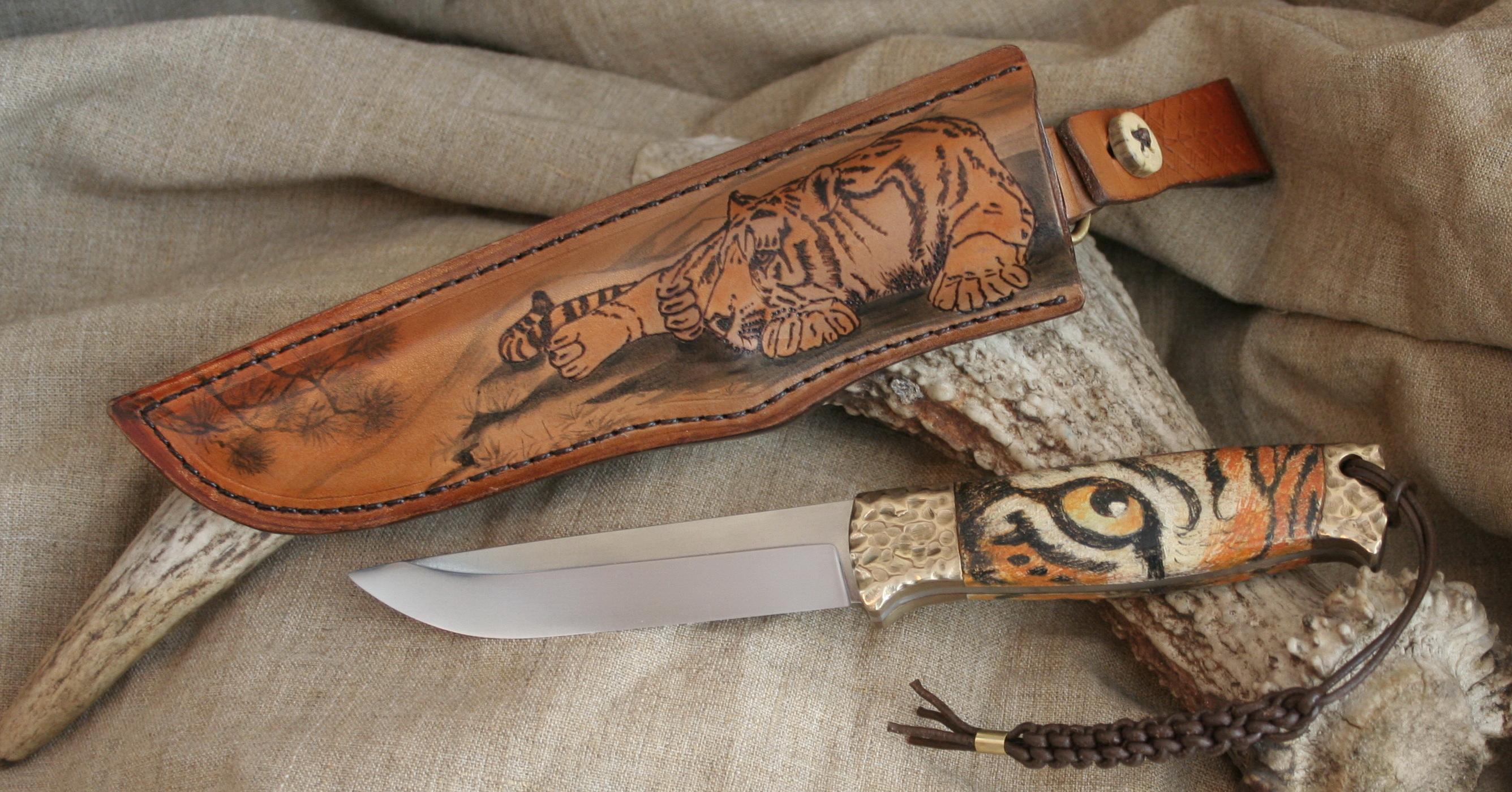 Авторские ножи ручной работы от лучших мастеров